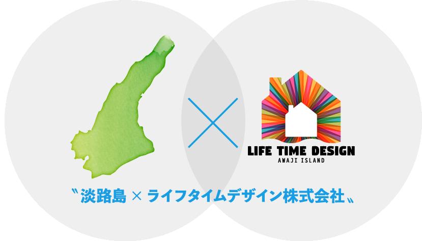 淡路島の×ライフタイムデザイン株式会社