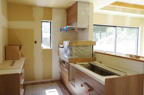 田舎風の住宅システムキッチン