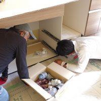 設備工事・電気工事。家ができるまで。