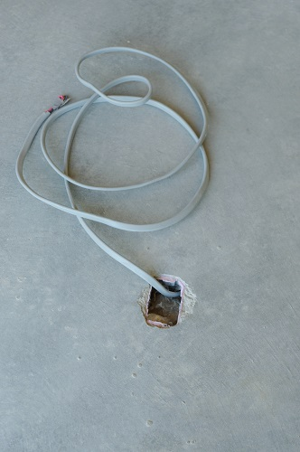 田舎風の住宅電気工事