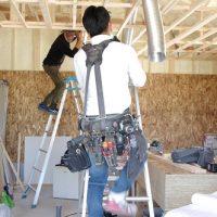 電気工事post強化。家ができるまで。