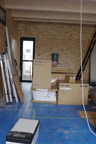 ビルトインガレージのある家設備機器