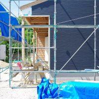 外壁進捗・大工窓枠。家ができるまで。