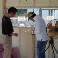 宅内配管つづき。あと大工と外壁…
