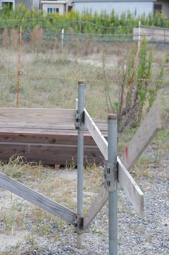 海辺のサーファーズハウス基礎工事